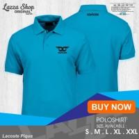 Poloshirt / Polo Kaos / Baju Kerah Musik DJ EDM Carlcox Murah