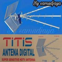Antena Tv Titis Tt 1000 Uhf Outdoor Antena Luar Antena Sensitif Best