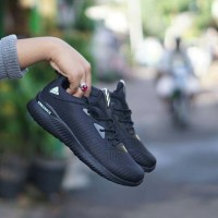 Sepatu sneakers adidas alphabounce full hitam men cowok pria 40-44