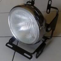 Braket Lampu Pesek Yamaha NEW Vixion Set Headlamp Tiger Lama