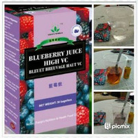 Blueberry Juice Green World Original pemutih kulit antioksidan