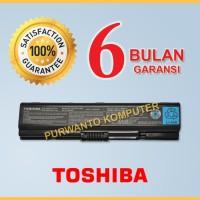 Original Baterai Laptop TOSHIBA Satellite A200 A202 A203 A205 PA3534U