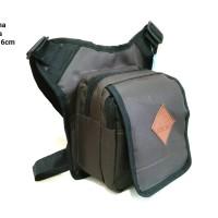 Tas Selempang Cordura Pria Pinggang Paha Bag Cowok Travel Bag Laki