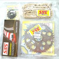 Gearset SSS Tiger 200cc Tipe 520 / Girset / Gear Set SSS Tiger 200cc