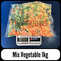 Mix Vegetables / Sayuran Steak Sup / Jagung Buncis Wortel Polong Bandi