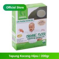 GASOL Organik Tepung Kacang Hijau 200Gr / 200 Gr / Makanan Bayi