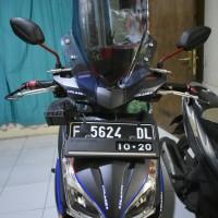 Windshield Winsil Visor Penahan Angin Aksesoris Honda Vario CW 110