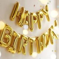 balon foil angka huruf besar 40 cm ultah birthday ballon