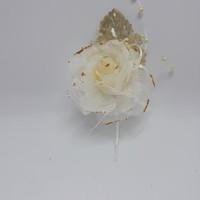 Bunga korsase jas / corsage bunga hiasan baju BM18