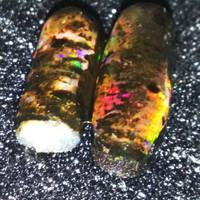 Bahan black opal full jarong