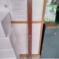 Penggaris Kayu 1 meter / 100 cm