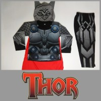 Baju Kostum Anak Karakter Superhero Thor Avengers