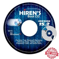 HIRENS BOOT DVD 15.2 - PC SOFTWARE