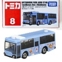 Mitsubishi FUSO Aero Star no 8 Tomica Tachikawa Bus x Rilakkuma