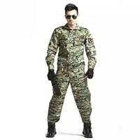 Baju Kamuflase Setelan Set Seragam Army Military Tempur Airsoft