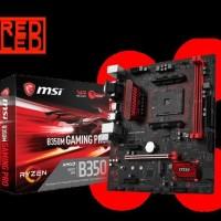 Msi B350M Gaming Pro Amd B350 Am4 Ddr4 Micro Atx Motherboard