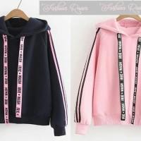 sweter baju hoodie atasan kaos cewek wanita remaja abg lengan panjang
