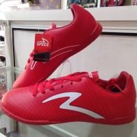 sepatu futsal Specs barricada guardian in fresh red / white