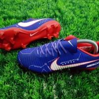 sepatu bola nike mercurial vapor xi ungu merah grade ori import