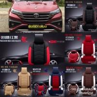 Sarung jok mobil all new rush 2018 model elegan dan sporty