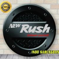 Cover Ban / Sarung Ban Serep Rush H Putih Kulit Sintetis