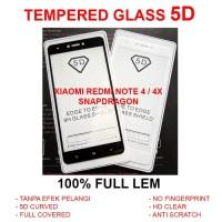 TEMPERED GLASS 5D Xiaomi Redmi Note 4 4X full screen anti gores 3D 4D
