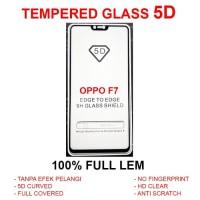 Oppo F7 Pro Plus full screen anti gores kaca 3D 4D TEMPERED GLASS 5D