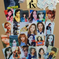 PAKET Photocard & Stiker Girlband Kpop SNSD/TWICE/FX/GFRIEND/APINK/RED