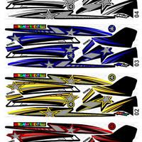 Sticker / Striping Variasi Racing Mio Sporty / Mio Cw / Mio Garnis