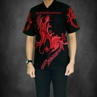 Model Baju Batik Modern Pria Kemeja Batik Pekalongan   Anjani