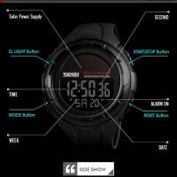 Jam Tangan Pria Digital SKMEI 1405 Black Water Resistant 50M