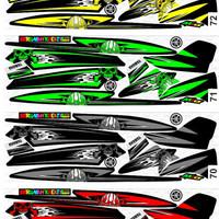 Sticker Striping Variasi Racing Mio Sporty / Mio Smile / Mio Garnis