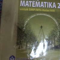 Buku jenius matematika kls 2 SMP penerbit BSE