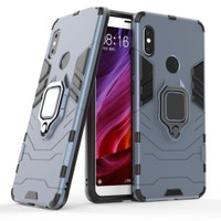 Xiaomi Redmi Note 5 Case iron armor with i-ring - casing redmi note 5
