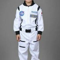 Kostum astronot // baju profesi // baju cita2 anak size 5 & 6