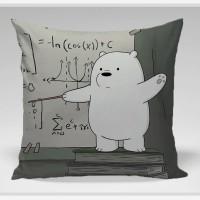 Bantal Sofa / bantal dekorasi We Bare Bears - ice Bear Teacher