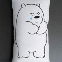 Bantal Sofa / bantal dekorasi We Bare Bears - Ice Bear Cry
