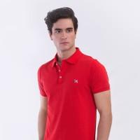 MON AKITA - Renault Men Polo Shirt Red - Kaos Polo Merah Pria