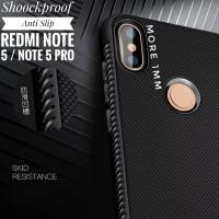 Shockproof Anti Slip Flexible Slim Black Matte Case Xiaomi Redmi Note