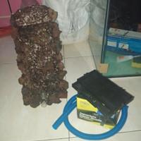 paket tebing waterfall aquascape 25-35cm..