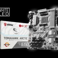 MSI B350 Tomahawk Arctic (AM4, AMD Promontory B350, DDR4, USB3.1)