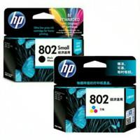 Tinta HP 802 hitam / warna
