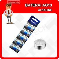 BATERAI AG13 LR44 ALKALINE Batu Batre kancing Button Cell Battery AG
