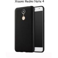 Case xiaomi redmi note 4 softcase alivo leather texture backcase cover