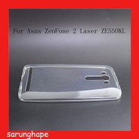Clear Soft Case Casing Transparan Asus Zenfone 2 Laser 5.5 ZE550KL