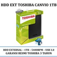 TOSHIBA Canvio Basic 3.0 Portable HDD / Harddisk / Hard Drive 1TB