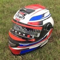 Arai RX-7 Replika Full Face Helm Double Visor Import Doohan and Stoner