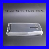 Asus Zenfone 2 Laser 5.5 ZE550KL - Clear Soft Case Casing Transparan