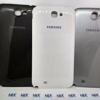 Backdoor Backcover Tutup Casing Belakang Samsung Note2 Note 2 Original - Hitam