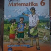 Buku gemar matematika kls 6 SD penerbit BSE